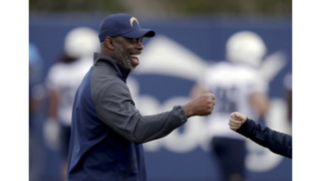 Chargers coach fulfills promise to his mother, graduates on Mother's Day weekend