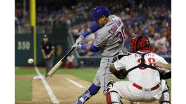 Nick Williams powers Phillies past Mets to salvage series split