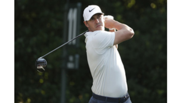 Brooks Koepka holes out for rare albatross on final day at Sawgrass