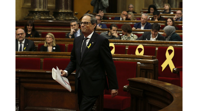Catalan parliament to vote for new president on Monday