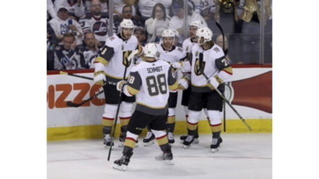 Tomas Tatar scores as Vegas Golden Knights pull even in conference finals