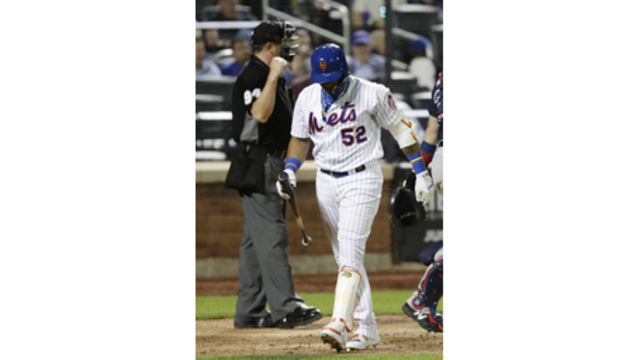 Hip strain sends Mets Cespedes to DL