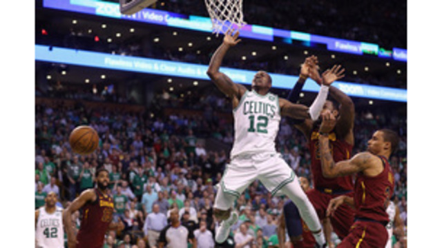 Celtics survive 42-point night by LeBron, down Cavs