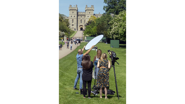 Wedding of prince and actress brings outsized media interest