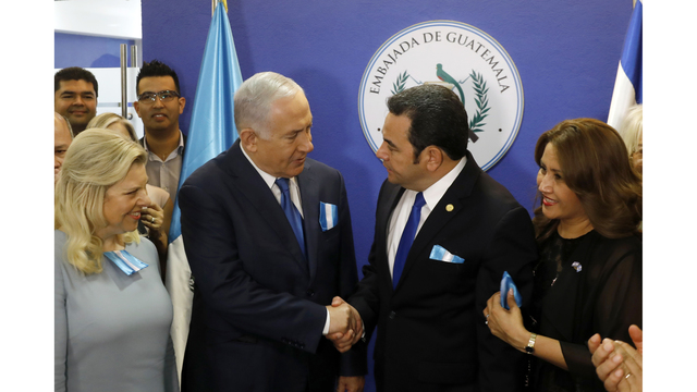 Guatemala moves Israel embassy to Jerusalem, 2 days after US