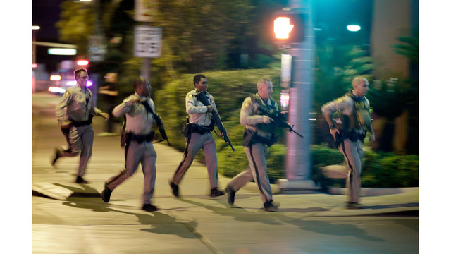 Vegas Strip shooting witnesses described chaos compassion