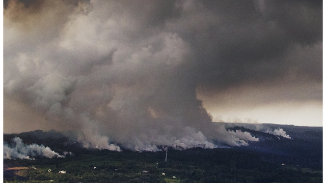 Hawaii's Kilauea volcano erupts, launching plume of ash