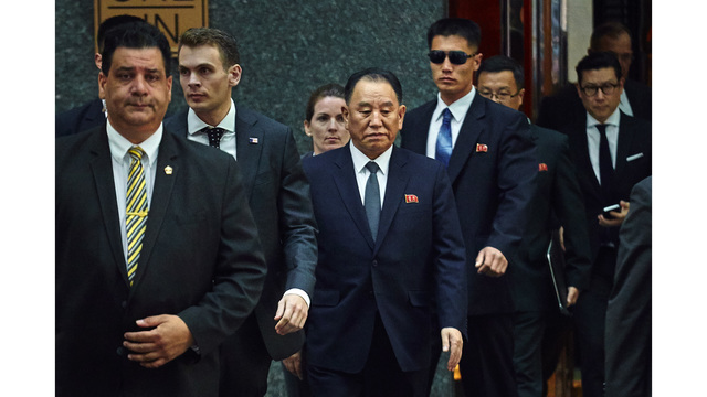 North Korean senior official heads to US to salvage summit