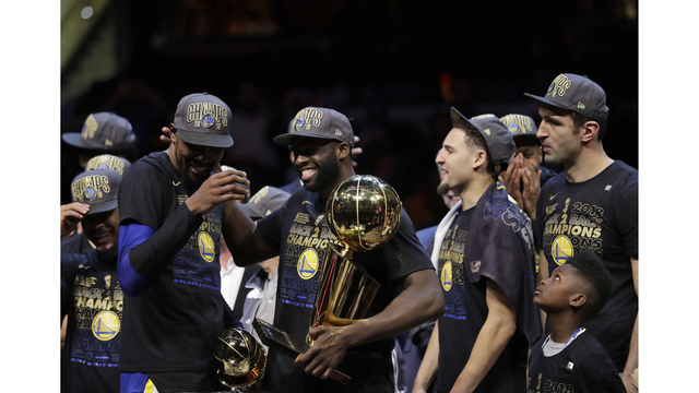 Golden Still: Warriors sweep Cavs for second straight title