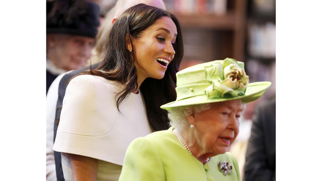 Duchess Meghan Makes First Joint Appearance With Queen Wrbl