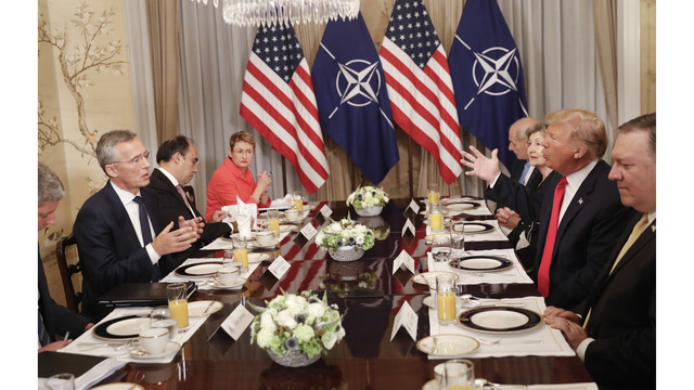 NATO Holds Emergency Session Amid Trump Demands