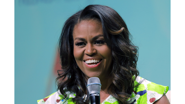 APNewsBreak: Michelle Obama rips Trump in new book