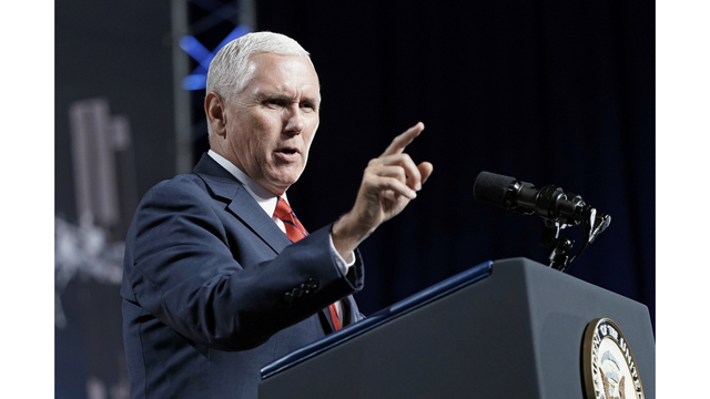 Vice President Mike Pence is visiting Arkansas today