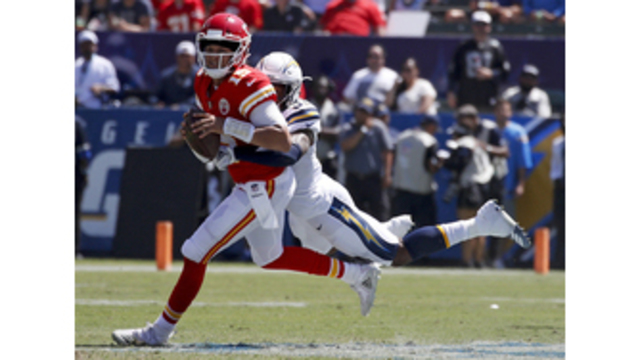 4f16b31cc Chiefs  Patrick Mahomes made all the right throws in Week 1