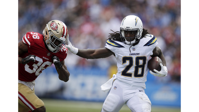 Rivers Throws For 3 TDs As Chargers Rally To Beat 49ers