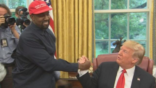Kanye West Dominates 20-Minute White House Meeting With President Trump