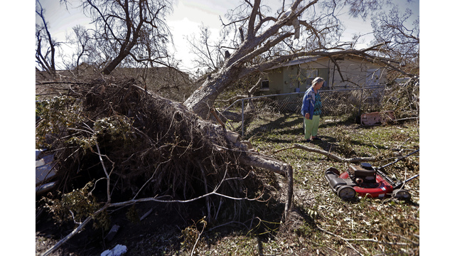 Far From Coast, Rural Counties Also Recovering From Michael