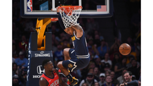 9f6e90400 Harris sparks Nuggets to 116-111 win over depleted Pelicans