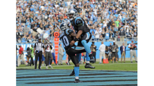 Newton, McCaffrey lead Panthers past Bucs 42-28
