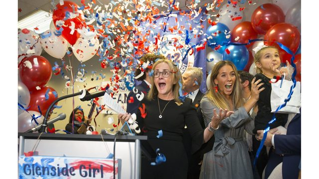 Record number of women elected to House