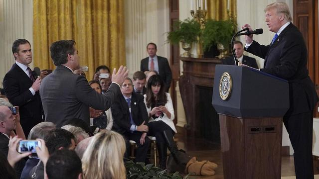 Did the White House Share a Doctored Video From Infowars of Jim Acosta Allegedly Karate-Chopping an