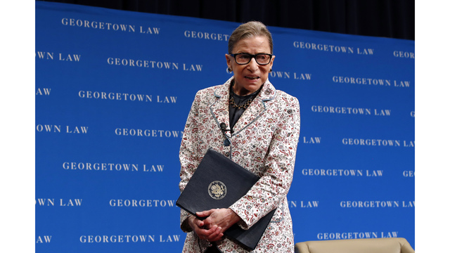 Ginsburg released from hospital after fractured rib treatment