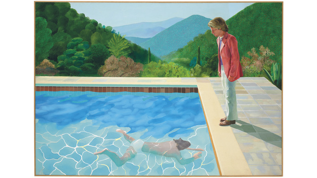 David Hockney Painting Fetches Record 90M At NYC Auction