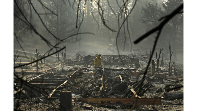 The Latest Rain Predicted For North California Fire Zone