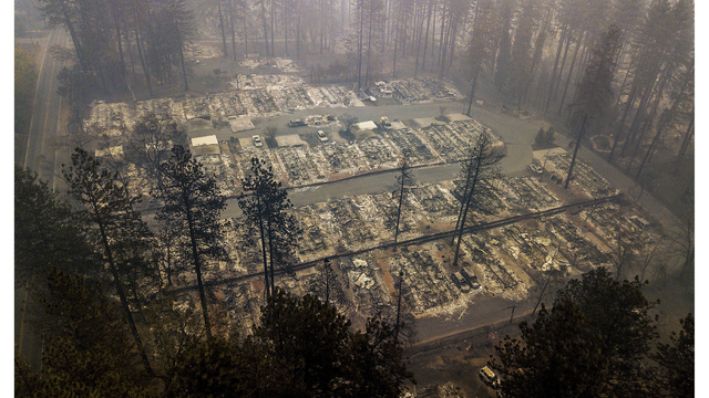 Sheriff: List of missing after fire drops to 1,000