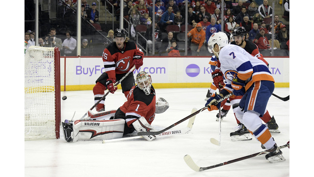 Barzal scores in overtime to lead Islanders over Devils f59995c8d