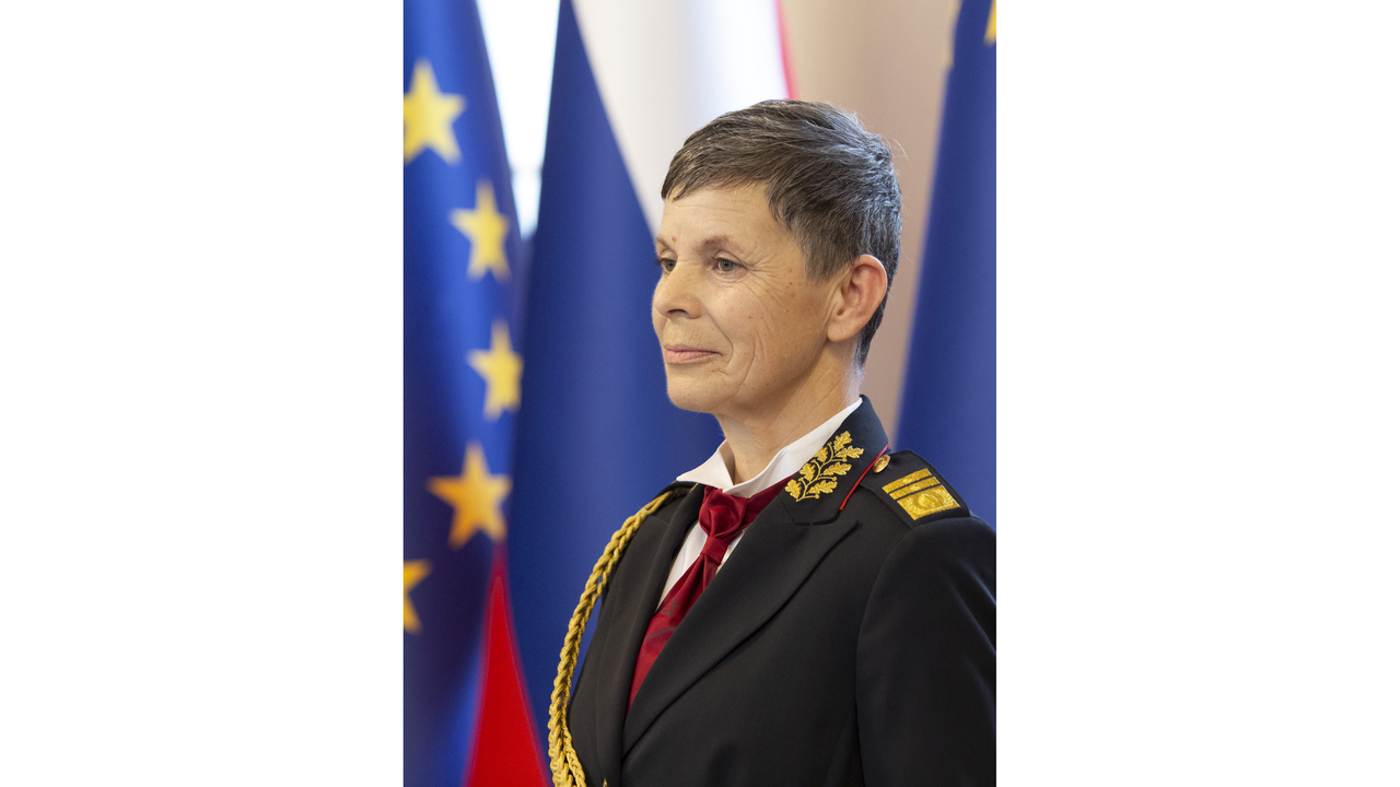 Slovenia appoints woman as army chief of staff for 1st time
