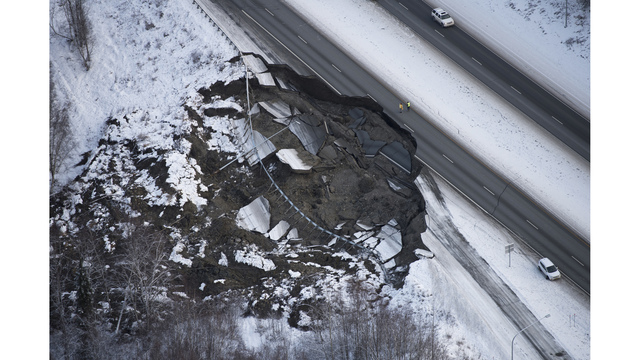 Life is slowly settling down in Alaska after major quake