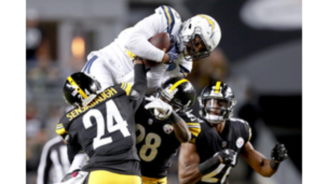 low priced f4a1f 6b059 Rivers rallies Chargers past Steelers 33-30 - EastTexasMatters