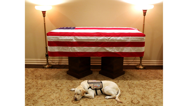 Week filled with events to memorialize Bush 41