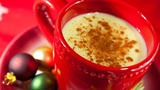 Holiday hot buttered rum