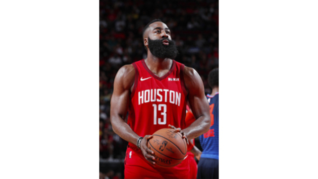 wholesale dealer 12d0e e2d73 Harden, Rockets on target going into game against Celtics