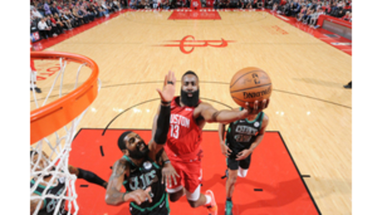 c783cfb2901d Harden s 45 lead Rockets in 127-113 win over Celtics