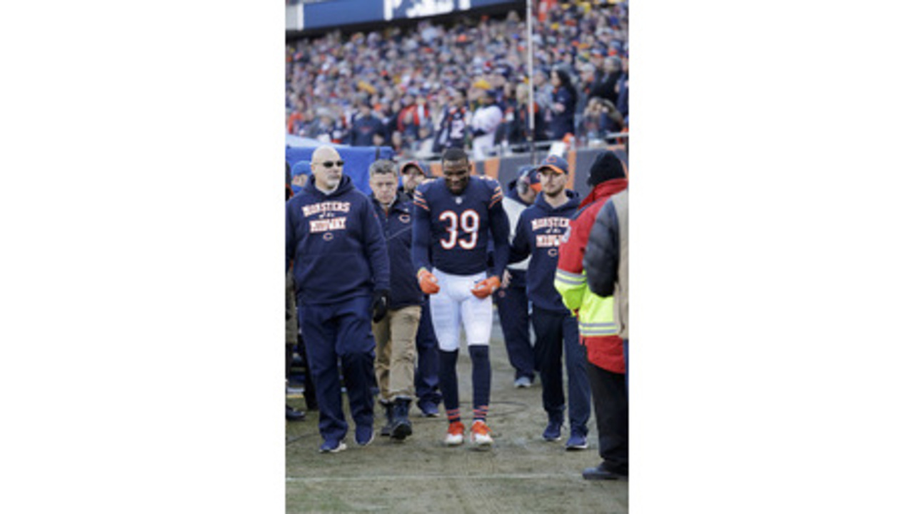48e342db844 Bears safety Eddie Jackson questionable for playoff game ...