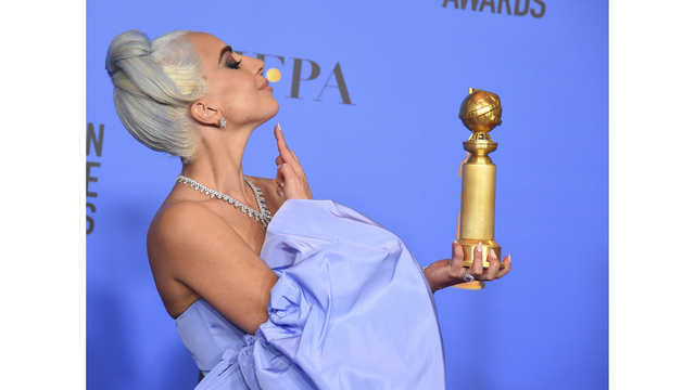 Lady Gaga Wins Best Original Song At Golden Globes
