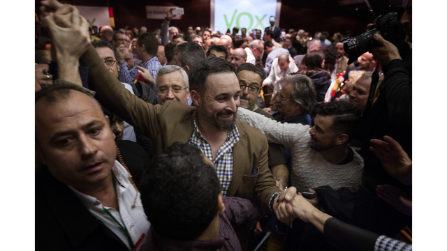 Spain's far-right Vox party allies with mainstream rivals