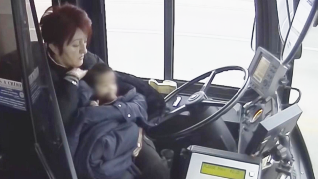 Milwaukee Bus Driver Saves Barefoot Toddler Wandering Alone on Street