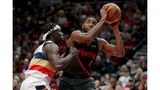Lillard leads Trail Blazers to 128-112 win over Pelicans
