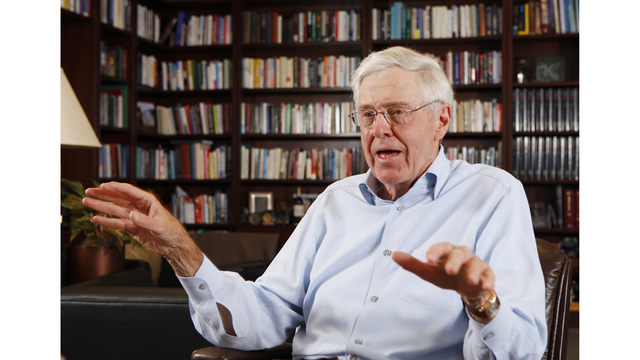 Muted political tone at largest Koch donor network meeting