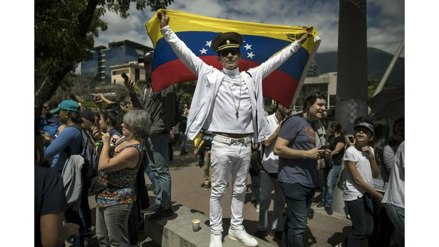 The Latest Spain Gives Maduro 8 Days To Call Elections