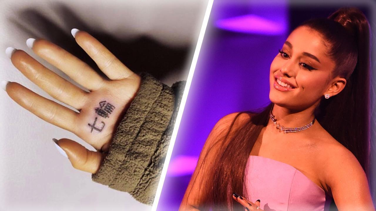 bb87a4d7b A Guide to Getting Tattoos Following Ariana Grande's 'Tiny BBQ Grill'  Faux-Pas