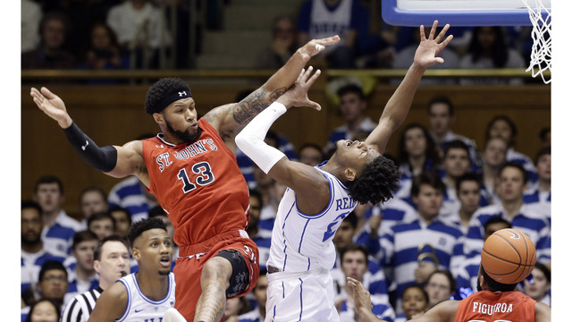 Williamsons 29 Leads No 2 Duke To 91 61 Rout Of St Johns