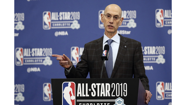 a561c5cf920 Adam Silver s annual NBA address keys on competitive balance
