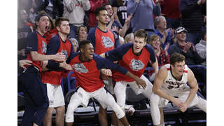 Gonzaga Reclaims No 1 In Ap Top 25 Wofford Debuts At 24th