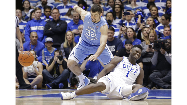 Duke's Zion Williamson ruled out for Tuesday against Wake Forest