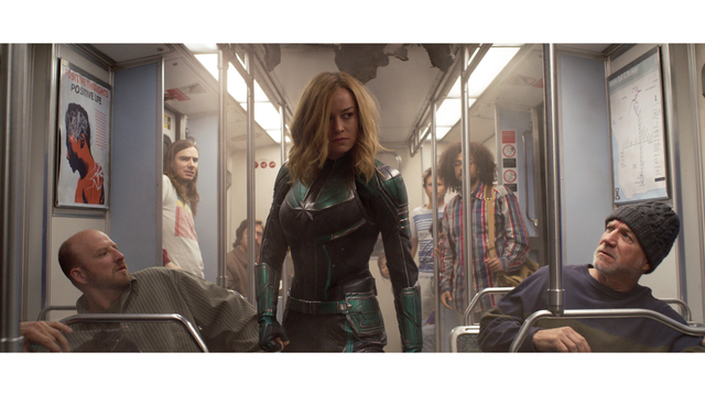 Captain Marvel Rockets To A Record Breaking 153m Debut